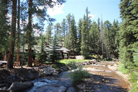 top cabins on river in estes park