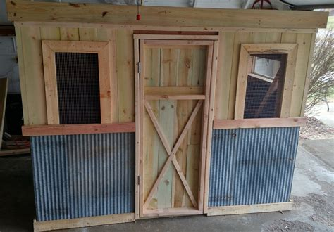 diy vintage chicken coop plans      material