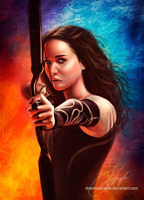 Katniss everdeen catching fire and feuer on pinterest