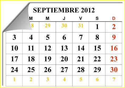 Calendario Año 2017 Colombia Con Festivos Septiembre 2012 Cienciasbio Dime Y Lo Olvido