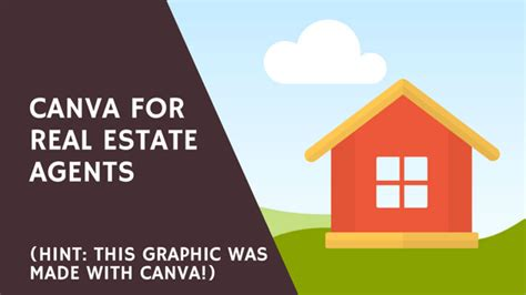 canva real estate canva free for real estate teams
