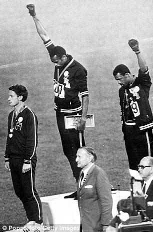 black salute how owens tried to stop black power salutes at 1986