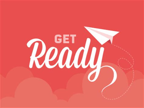 how to get ready for a get ready by chris bramford dribbble