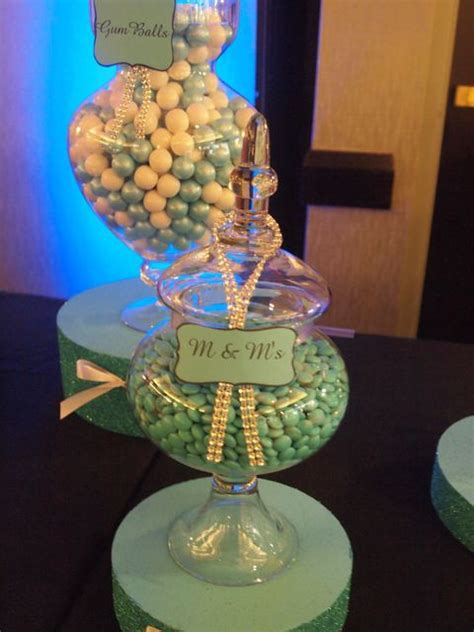 themed jewelry party ideas 223 best images about tiffany blue candy table ideas on