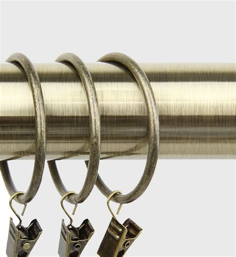 curtain rings with clips 2 inch rod desyne