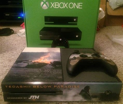 Xbox One Giveaway 2014 - tedashii autographed and themed xbox one giveaway contest over