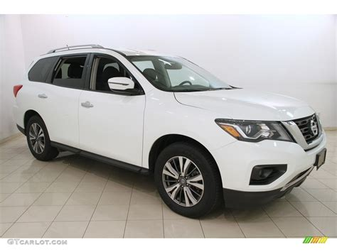 nissan pathfinder 2017 white 2017 pearl white nissan pathfinder sv 4x4 120350615 photo