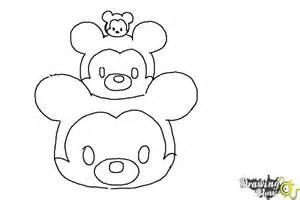 draw disney tsum tsum drawingnow