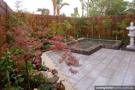 Backyard Japanese Garden by Real Backyard Japanese Garden Design Completehome