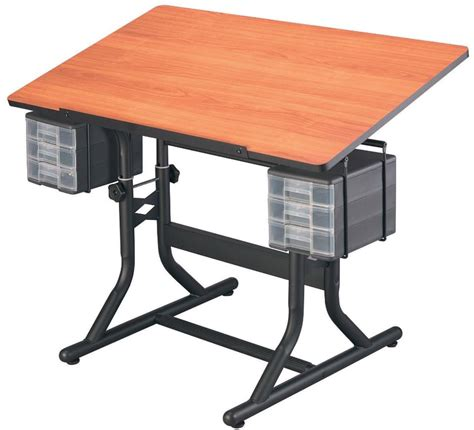 Drafting Table Storage Alvin Craftmaster The Award Winning Adjustable Hobby Craft Tables