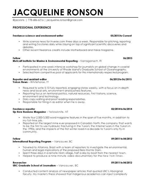 resume by jacqueline ronson issuu