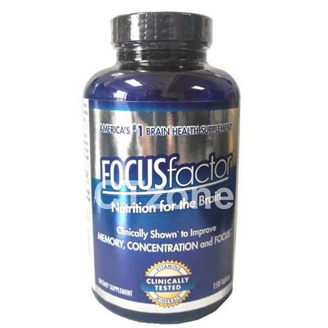focus x supplement focus factor brain memory concentration supplement multi