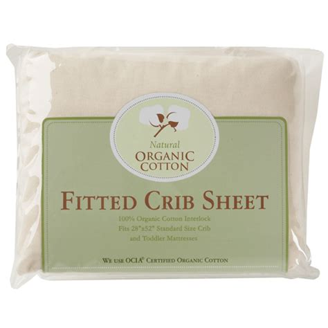 Crib Size Sheets by Organic Cotton Fitted Sheet Porta Crib Size Portable