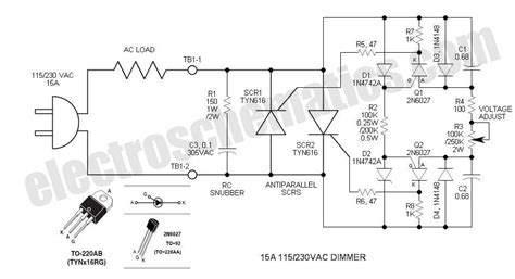 scr controlled battery charger circuit diagram scr phase dimmer circuit circuit wiring diagrams