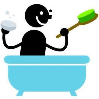 To Take A Shower by Take A Bath
