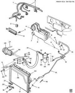 1995 Buick Century Parts Buick Century A C Refrigeration System