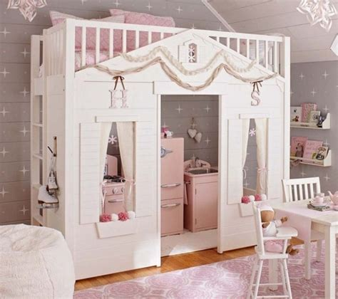 pottery barn loft bed 35 cool kids loft beds kidsomania
