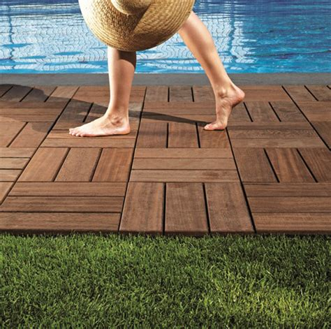 Wood Patio Flooring by Outdoor Wood Flooring By Bellotti Larideck