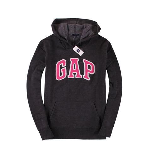 Sweater Gap sweater gap hoodie sweatshirt charcoal pink