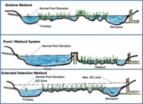 design criteria for wetlands replacement types of stormwater wetlands minnesota stormwater manual