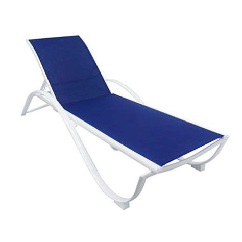 Sling Chaise Lounge Aluminum Sling Chaise Lounge Sam S Club