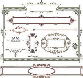 pattern border illustrator vector islamic border illustrator free vector download