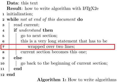 make algorithm algorithm2e disabling line numbers for specific lines
