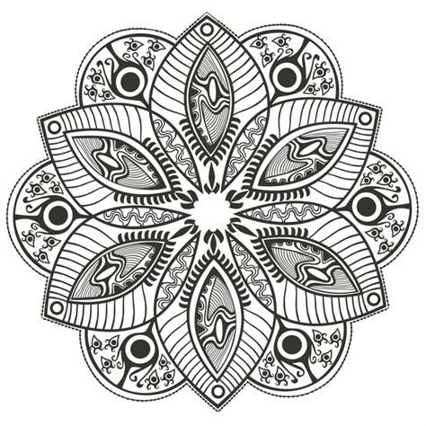 imagenes de mandalas florales c 243 mo pintar mandala muy f 225 cil en casa