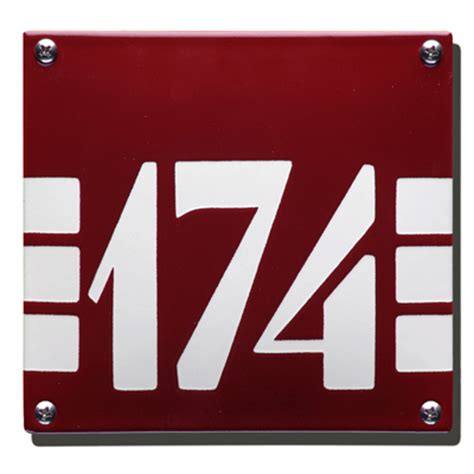 design house numbers uk house number artdeco he 57 15x14 cm he 57 95 00