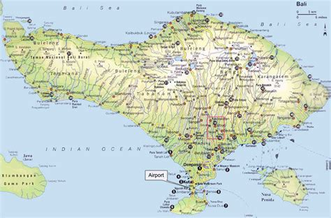 map of bali bali weather forecast and bali map info details bali road map for travelers guidance during
