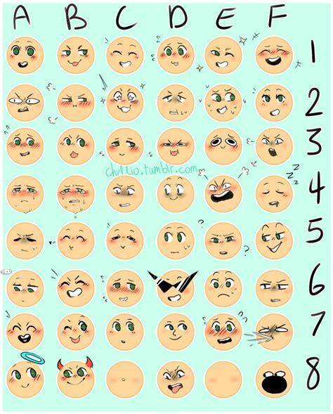 Meme Expression Faces - emoji expression meme for fun by lilcinnamonrollmama on
