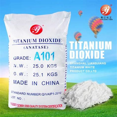 Titanium Dioxide Tio2 Rutile high purity titanium dioxide anatase a101 for coating