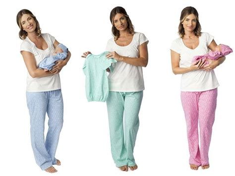 after baby clothes for maternity nursing pajamas pregnancy and matching baby