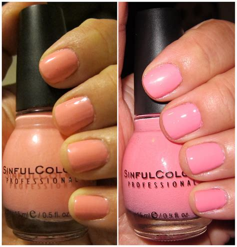 sinful colors swatches sinful colors nail swatches images