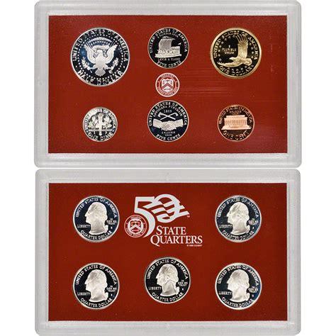 2004 silver proof quarter set 2004 us mint silver proof set ebay