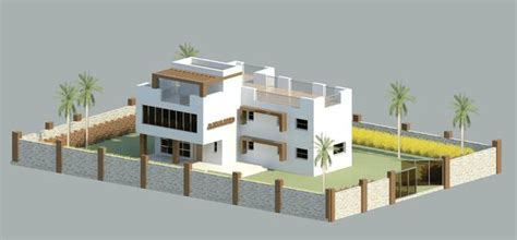 Download Revit Model   A Bungalow For Quick Project