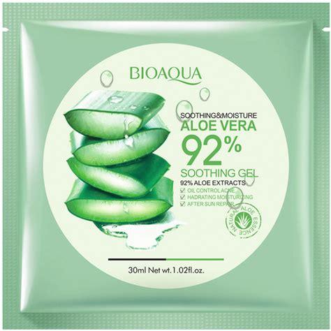 bioaqua soothing moisture aloe vera 92 soothing gel