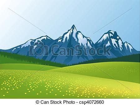 clipart montagna clipart vecteur de montagne fond csp4072660 recherchez