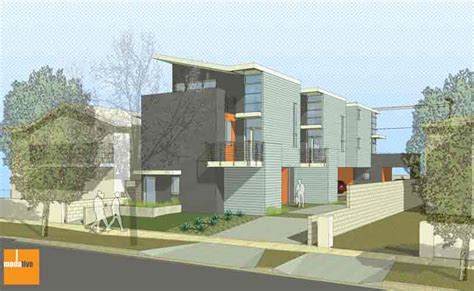 Energy Efficient Small House Plans Case Studies Los Angeles California Small Lot Ordinance