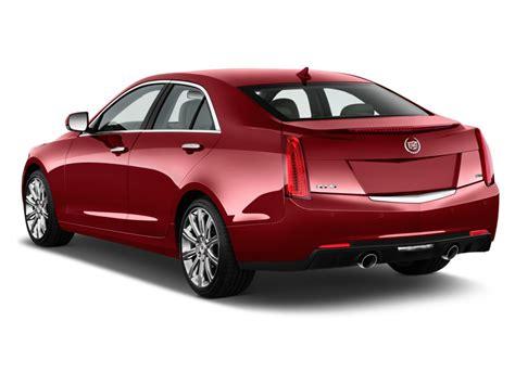 cadillac the car connection 2014 cadillac ats 4 door sedan 2 0l rwd angular rear exterior view