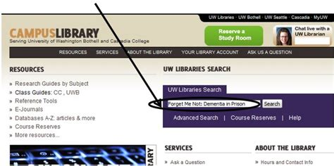 Uw Search Search For An Article Title In Uw Libraries Search