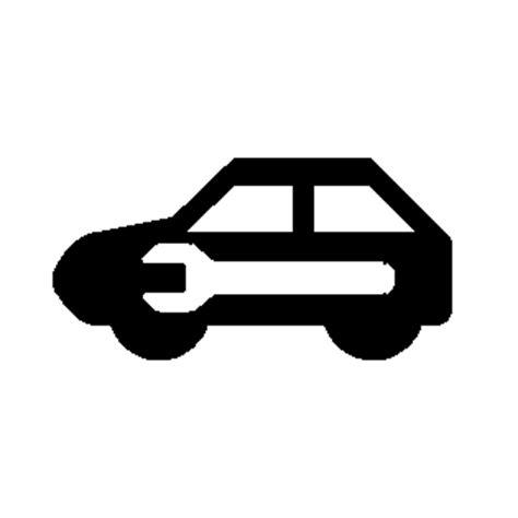 service vehicle soon light auto light symbol