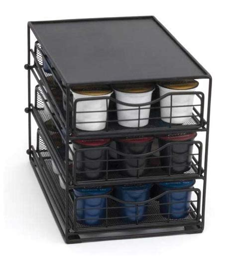 Coffee Storage Drawer coffee pod storage drawers in tea and coffee storage