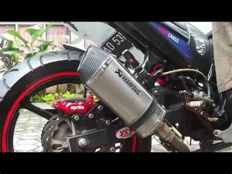 Knalpot Two Brothers Carbon For Bysonr15scorpio Zvixionxabre yamaha fz 16 byson akrapovic exhaust funnydog tv