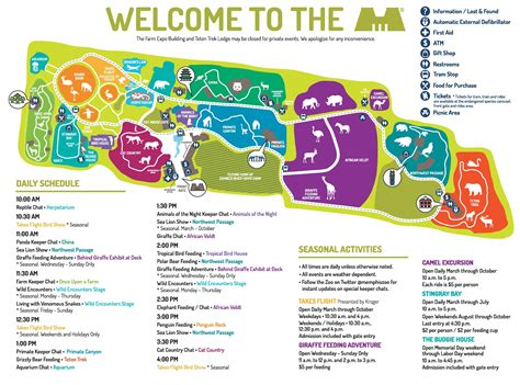 map of los angeles zoo zoo map