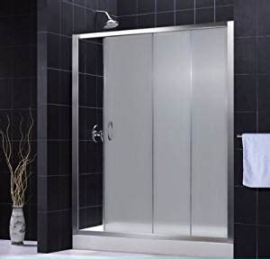 Shower Door Frame Kit Infinity 56 60 Sliding Shower Door With Center Drain And Base Kit Glass Type