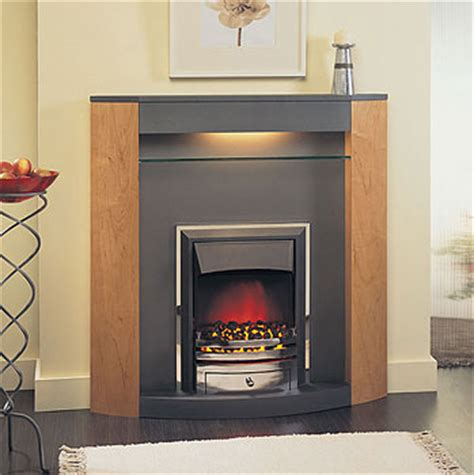 The Fireplace Limited by Suncrest Surrounds Limited Serena Graphite Electric