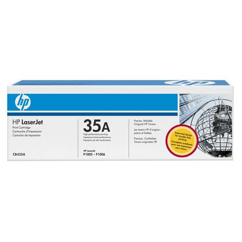 Toner Hp 35a hp 35a laserjet toner cartridge black cb435a officeworks