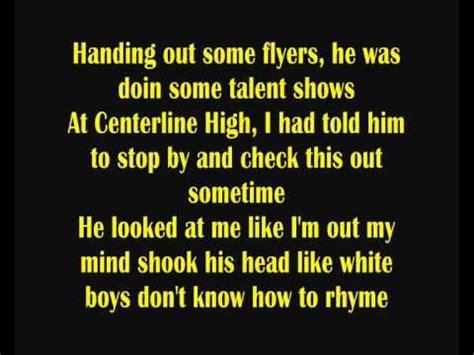 Eminem Yellow Brick Road Lyrics   eminem yellow brick road lyrics youtube