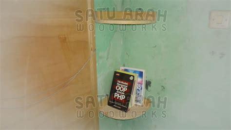 Rak Buku Dinding Sederhana jual rak buku dinding sederhana minimalis jati belanda